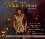 HAENDEL - Mackerras - Giulio Cesare in Egitto (Jules Cesar), opéra en 3 en anglais