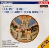 MOZART - Philharmonia Qu - Quintette avec clarinette 'Stadler' K.581