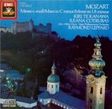 MOZART - Leppard - Messe en ut mineur, pour solistes, chœur et orchestre