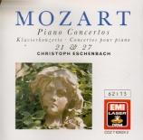 MOZART - Eschenbach - Concerto pour piano et orchestre n°21 en do majeur