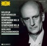 BRAHMS - Furtwängler - Symphonie n°3 pour orchestre en fa majeur op.90