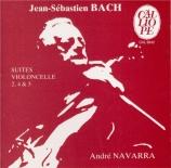 BACH - Navarra - Suite pour violoncelle seul n°2 en ré mineur BWV.1008