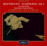 BEETHOVEN - Kleiber - Symphonie n°4 op.60