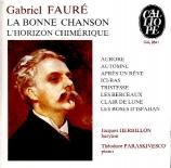 FAURE - Herbillon - Bonne chanson (La) op.61