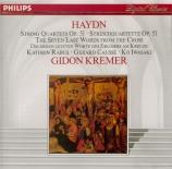 HAYDN - Kremer - Les sept dernières paroles du Christ sur la croix, vers