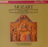 MOZART - Harrer - Messe en do majeur, pour solistes, chœur, orgue et orc