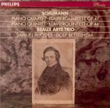 SCHUMANN - Beaux Arts Trio - Quatuor avec piano en mi bémol majeur op.47