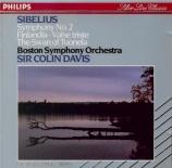 SIBELIUS - Davis - Symphonie n°2 op.43