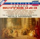 BACH - Marriner - Suite pour orchestre n°2 en si mineur BWV.1067