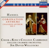 HAENDEL - Willcocks - Zadok the priest, anthem HWV.258 (Coronation anthe