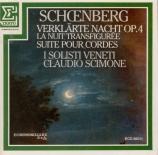 SCHOENBERG - Scimone - Verklächte Nacht (La nuit transfigurée) op.4