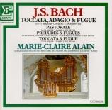 BACH - Alain - Toccata, adagio et fugue pour orgue en do majeur BWV.564