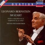 MOZART - Bernstein - Concerto pour piano et orchestre n°15 en si bémol m