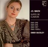 BACH - Buckley - Suite pour clavier en la mineur BWV.818