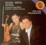 DVORAK - Midori - Concerto pour violon op.53