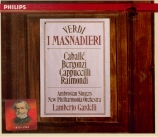 VERDI - Gardelli - I masnadieri (Les brigands), opéra en quatre actes