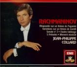 RACHMANINOV - Collard - Rhapsodie pour piano et orchestre sur un thème d