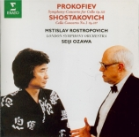 PROKOFIEV - Ozawa - Sinfonia concertante pour violoncelle et orchestre e