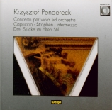 PENDERECKI - Zimmermann - Concerto pour alto (1983)