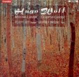 WOLF - Lott - An eine Aeolsharfe, pour voix et piano