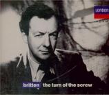 BRITTEN - Britten - The turn of the screw (Le tour d'écrou), opéra op.54