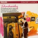TCHAIKOVSKY - Markevitch - Symphonie n°5 en mi mineur op.64
