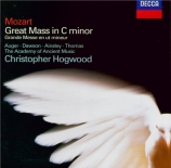 MOZART - Hogwood - Messe en ut mineur, pour solistes, choeur et orchestre