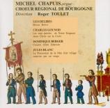 Oeuvres religieuses pour choeur et orgue