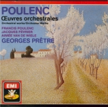 Oeuvres orchestrales