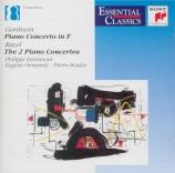 GERSHWIN - Entremont - Concerto pour piano en fa majeur