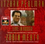 TCHAIKOVSKY - Mehta - Concerto pour violon en ré majeur op.35