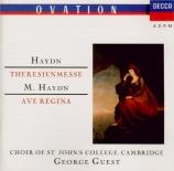 HAYDN - Guest - Theresienmesse, pour solistes, choeur mixte, orchestre et