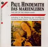 HINDEMITH - Kupper - Das Marienleben, op.27