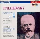 TCHAIKOVSKY - Sanderling - Symphonie n°4 en fa mineur op.36 import Japon