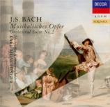 BACH - Münchinger - L'offrande musicale(Musikalisches Opfer), pour flût