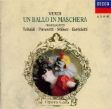 VERDI - Bartoletti - Bal Masqué (Un) : extraits