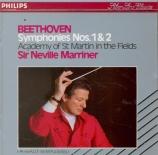 BEETHOVEN - Marriner - Symphonie n°1 op.21