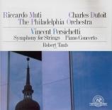 PERSICHETTI - Muti - Symphonie n°5, pour cordes