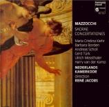 MAZZOCCHI - Jacobs - Sacrae concertationes