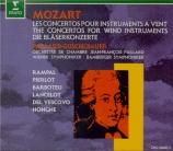 Intégrale des concertos pour instruments à vent