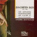 BACH - Raynaud - Sonate pour clavier en mi bémol majeur op.5 n°4