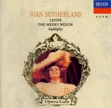 LEHAR - Sutherland - Veuve Joyeuse (La) : extraits