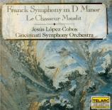 FRANCK - Lopez-Cobos - Symphonie pour orchestre enrémineur FWV.48