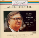 SCHOENBERG - Vandernoot - Pelléas et Mélisande op.5