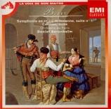 BIZET - Barenboim - Symphonie pour orchestre en ut majeur (1855) WD.33