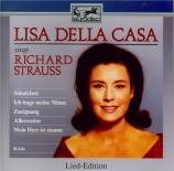 STRAUSS - Della Casa - Ständchen, pour voix et piano op.17 n°2