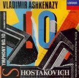 CHOSTAKOVITCH - Ashkenazy - Symphonie n°10 op.93