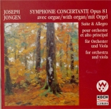 JONGEN - Priestman - Symphonie concertante pour orgue et orchestre op.81