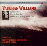 VAUGHAN WILLIAMS - Davis - Symphonie n°6