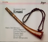 VERDI - Mitropoulos - Ernani, opéra en quatre actes live MET 19 - 12 - 1956